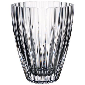 Light & Flowers Clear Vase, Hyacinth 7 in