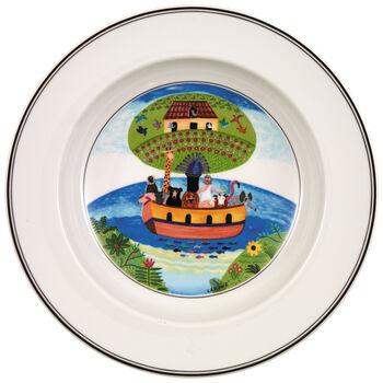 Design Naif Soup Bowl #2 - Noah's Ark 8 1/4 in