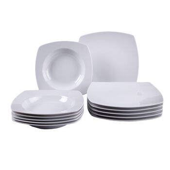 Simply Fresh 12 Piece Dinner Set