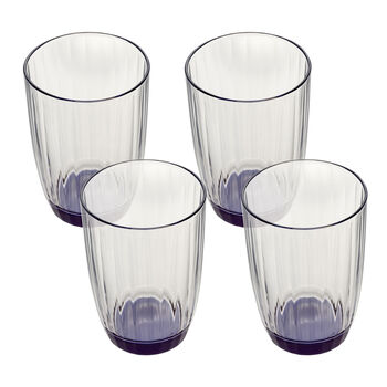 Artesano Original Bleu Small Tumbler : Set of 4 14.5 oz