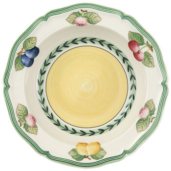 French Garden Fleurence Cereal Bowl 7 3/4 in