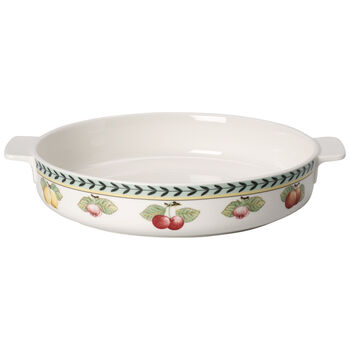 French Garden Baking Round Baking Dish 11 in