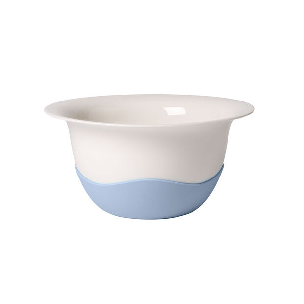 Clever Cooking Strainer/Serving Bowl : Blue 11.5 in, , large