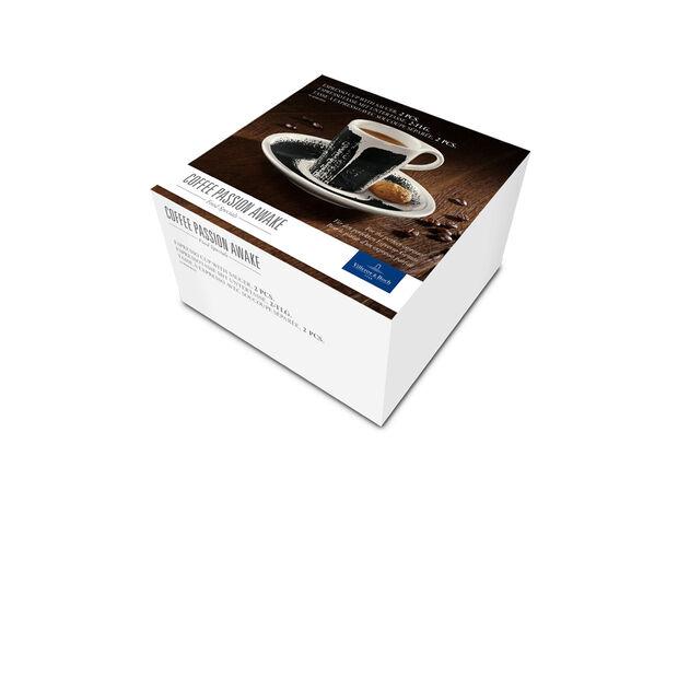 Coffee Passion Awake Espresso Cup & Saucer Set 3 oz, , large