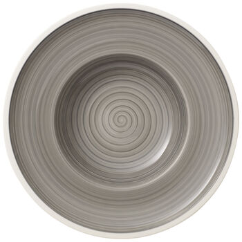 Manufacture gris Rim Soup 9.75 in