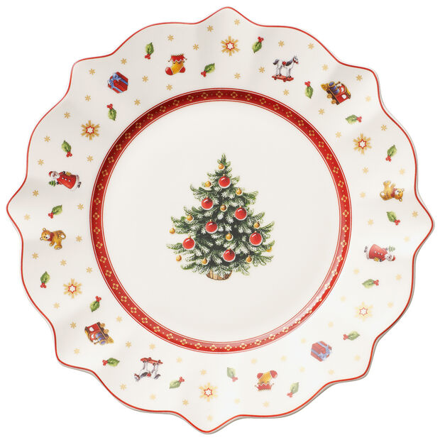 Toy's Delight Salad Plate, White 9 1/2 in, , large