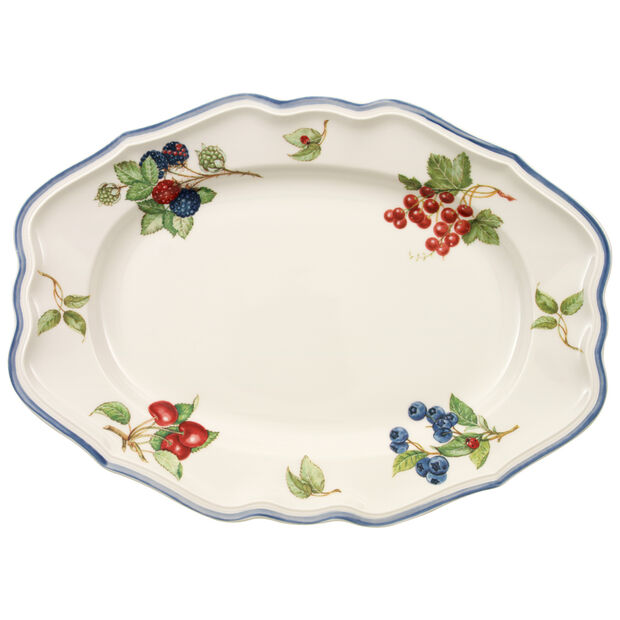 Cottage Oval Platter 14 1/2 in, , large