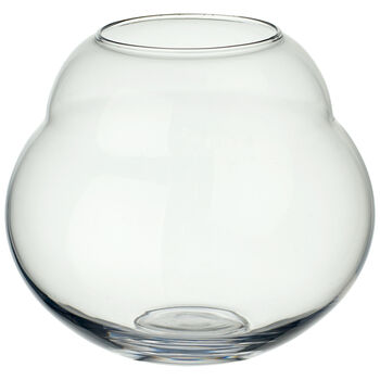 Jolie Clear Hurricane/Vase 7.5 in