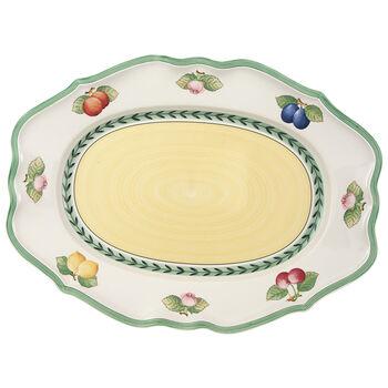 French Garden Fleurence Oval Platter 17 1/4 in