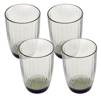 Artesano Original Vert Small Tumbler : Set of 4 14.5 oz