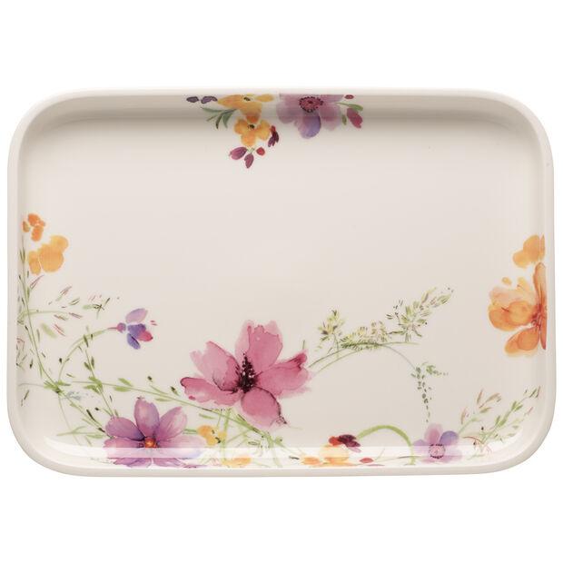 Mariefleur Basic Baking Dishes Rectangular Serving Plate/Lid 14 in, , large