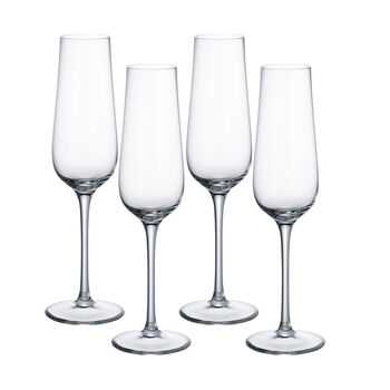 Purismo Champagne Glasses, Set of 4