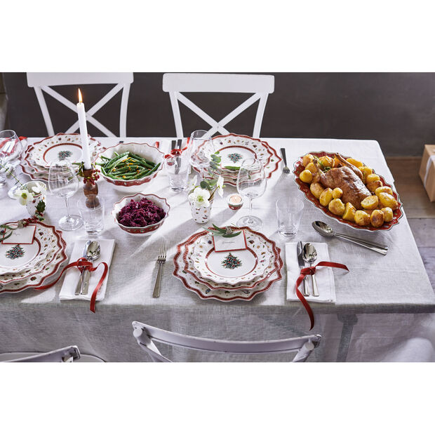 Toy's Delight Dinner Plate, Red, , large