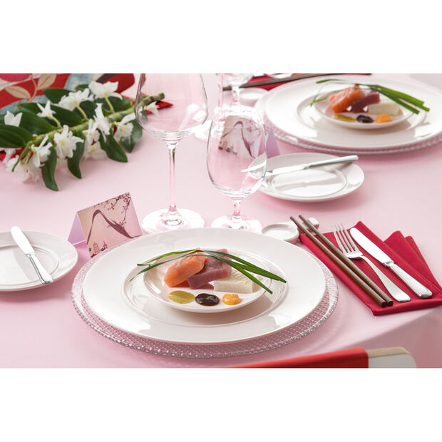 Colour Concept Buffet Plate, Clear 12 1/2 in, , large
