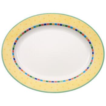 Twist Alea Limone Oval Platter 16 1/2 in