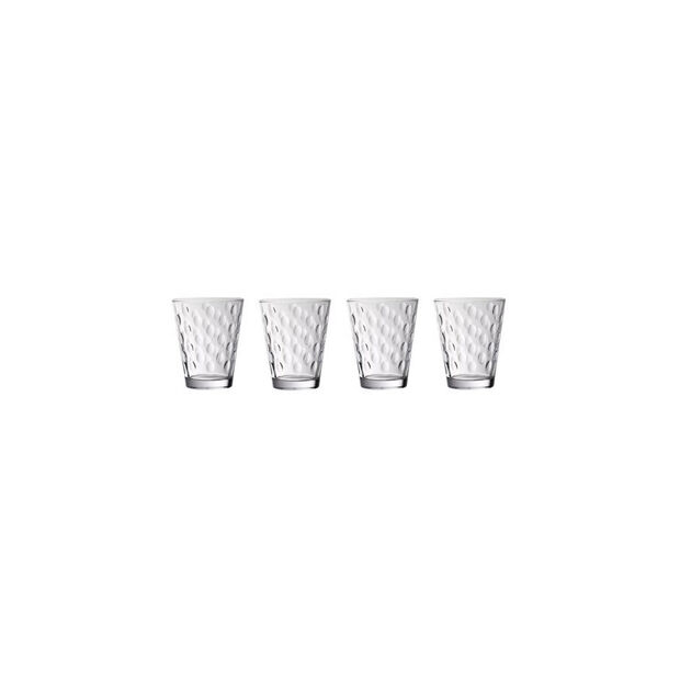 Dressed Up Crystal Glass Tumblers - Dots : Set of 4, , large