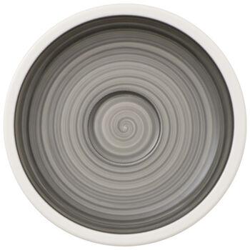 Manufacture gris Espresso Cup Saucer 4.75 in