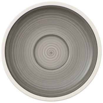 Manufacture gris Tea Cup Saucer 6.25 in