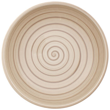 Artesano Nature Beige Pasta Bowl 9 in