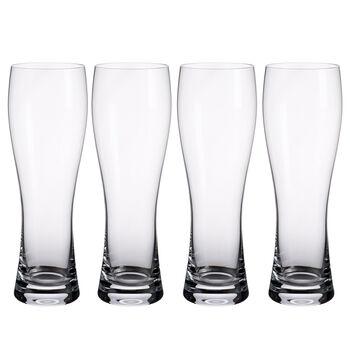 Purismo Pilsner Beer Glasses, Set of 4
