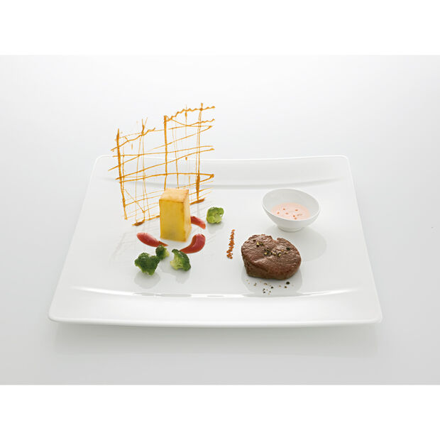 Modern Grace Dinner Plate 10 1/2 x 10 1/2 in, , large