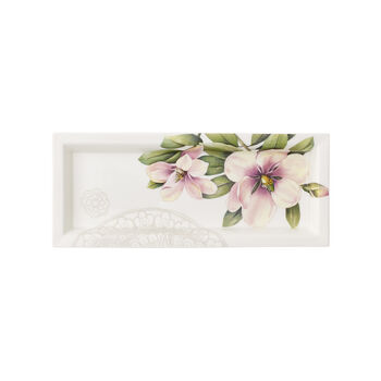 Quinsai Garden Gifts Rectangular Tray 9.25x4 in