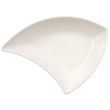 New Wave Triangle Appetizer Plate 5 1/2 x 6 in