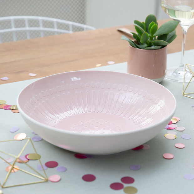 it's my match powder Serving Bowl : Blossom 10.25 in, , large