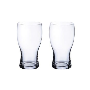 Purismo Beer Pint Glass : Set of 2 22 oz