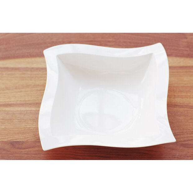 New Wave Square Salad Bowl 13 in, , large
