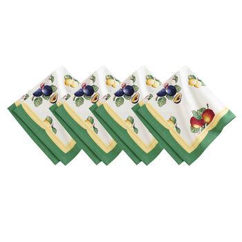 Elrene French Garden Napkin:Set of 4 21 x 21 in