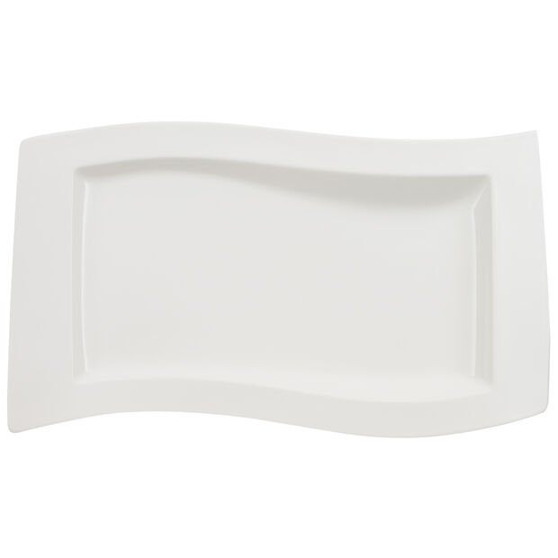New Wave Serving Dish 19 1/4 in, , large