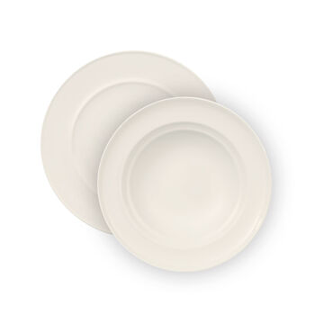 NEO White 12 Piece Dinner Set