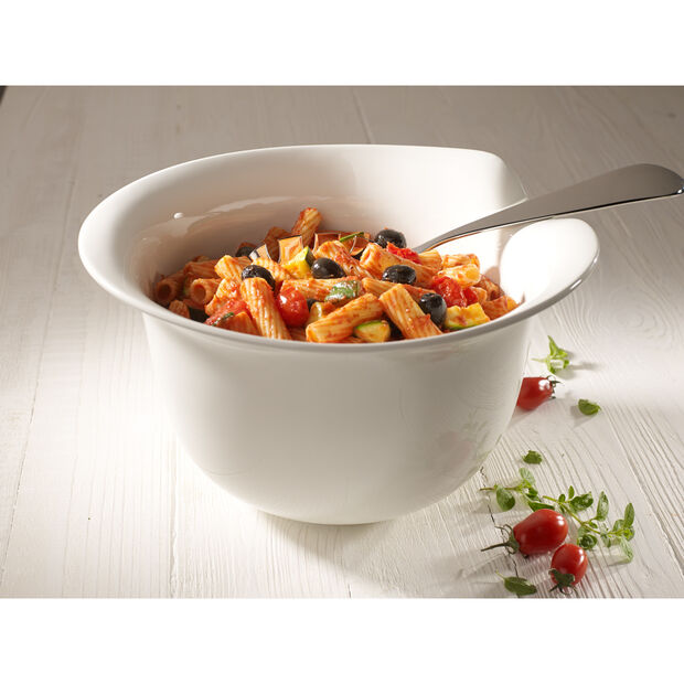 Pasta Passion Pasta Serve Bowl 13x11 in, , large