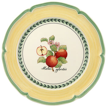 French Garden Valence Apple Dinner Plate 10 1/4 in