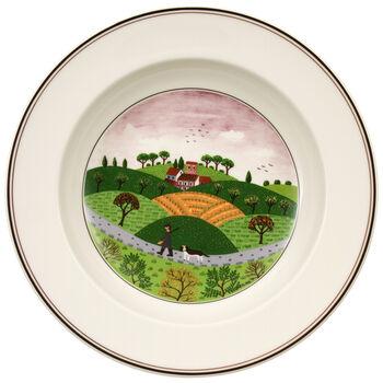 Design Naif Soup Bowl #6 - Hunter & Dog 8 1/4 in