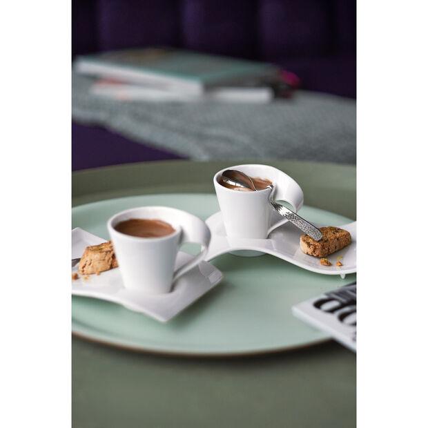 New Wave Caffè Demitasse Spoon 4 3/4 in, , large