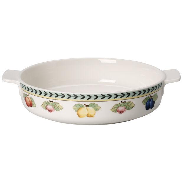 French Garden Baking Round Baking Dish 9.5 in, , large
