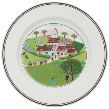 Design Naif Appetizer/Dessert Plate #3 - Wedding Pro 6 3/4 in