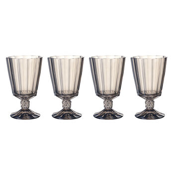 Opera Smoke Goblet : Set of 4 6 in/12 oz