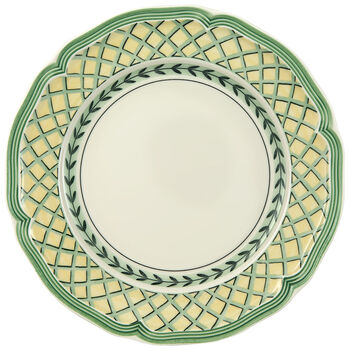 French Garden Orange Salad Plate 8 1/4 in