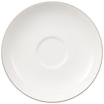 Anmut Platinum No. 1 Teacup Saucer 6 in