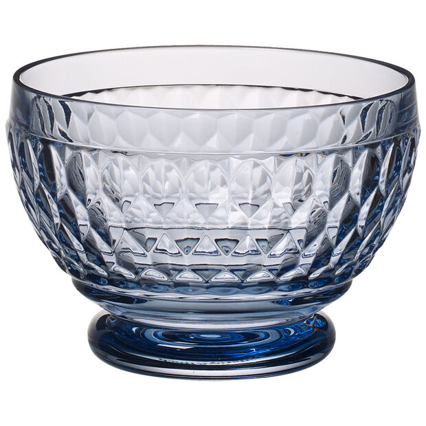 Boston Colored Individual Bowl, Blue 4 3/4 in, , large