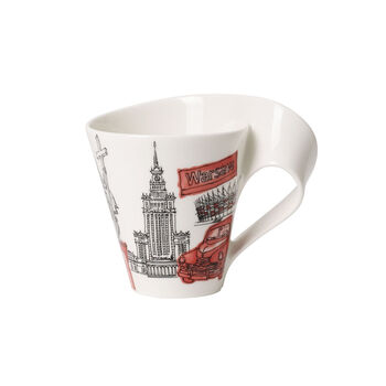 Cities of the World Mug Warsaw 10.1 oz
