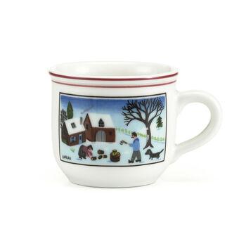 Design Naif Christmas Espresso Cup, 3.25 Ounces