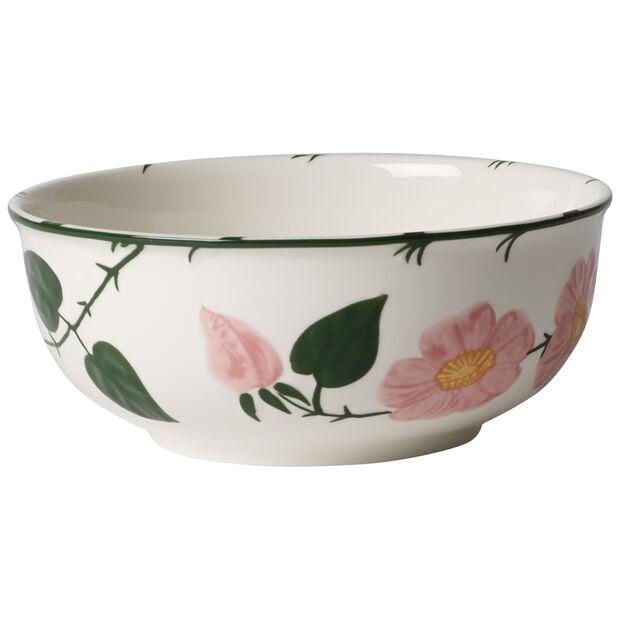 Rose Sauvage héritage Round Vegetable Bowl 6.75 in, , large