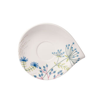 Flow Couture Breakfast Cup Saucer 8.25x7 in
