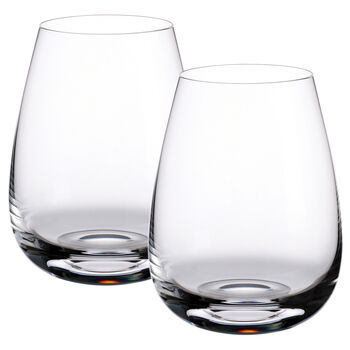 Scotch Whisky - Single Malt Highlands Whisky Tumblers, Set of 2 4 3/4 in