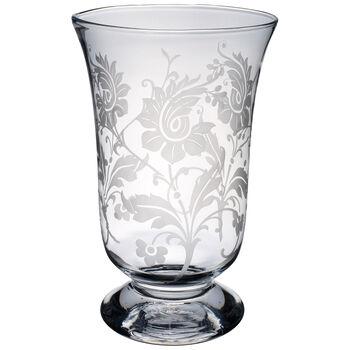 Helium Flowers Vase/Hurricane 13 1/2 in