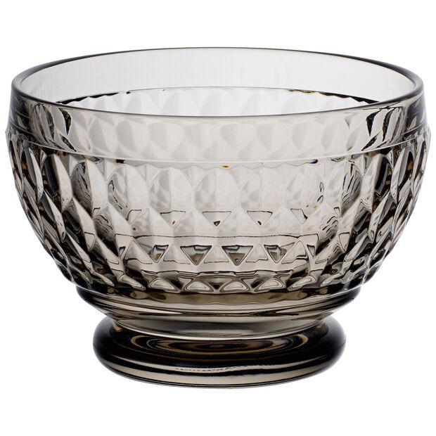 Boston Colored Individual Bowl-Smoke : Set of 4 4.75 oz, , large